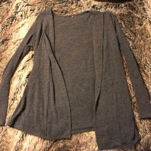 Kohl's Medium Cardigan Dark Grey